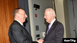 Ильхам Алиев и Джо Байден