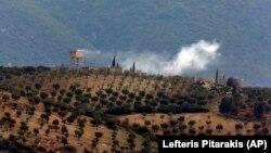 Türkiyə Suriyanın şimalındakı Afrin bölgəsini atəşə tutur