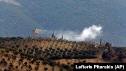 Архива: Чад на на позиција во Сирија по напад на турските безбедносни сили.