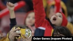 Unii copii au lipsit de la școală a doua zi după meci, pentru că erau obosiți.