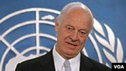استفان دی میستورا، نماینده ویژه دبیر کل سازمان ملل در امور سوریه