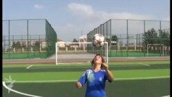 Messi kimi futbolçu olmaq istəyən qız – Aytac
