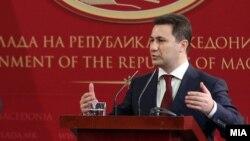 Премиерот на Македонија Никола Груевски.