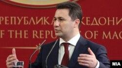 Премиерот на Македонија Никола Груевски