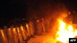Kosovo: Uklanjanje barikada, 20. oktobar 2011.