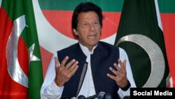 عمران خان نخست وزیر پاکستان (عکس از آرشیو)