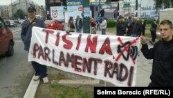 Protest u Sarajevu 13. juni 2013.