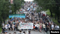 La protestul din Khabarovsk