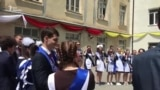 Цхинвальские выпускники вышли с карантина на бал