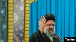 "Ayatollah Ahmad Khatami called on U.S. President-elect Donald Trump to apologize to Iranians for calling them ""terrorists"" during the campaign."