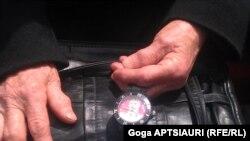 მაჯის საათი სტალინის გამოსახულებით