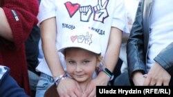 Miile de susținători ai candidatei opoziției din Belarus, Svetlana Țihanouskaia