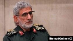Ismail Qaani, the head of Iran's elite Quds Force