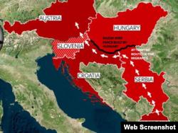 Так тепер виглядає потік біженців на Балканах після побудови парканів Угорщиною на кордоні з Сербією та Хорватією