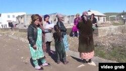 Хилоли ауылының тұрғындары. Тәжікстан, ақпан, 2019 жыл.