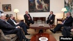 Встреча главы МИД Армении с сопредседателями МГ ОБСЕ, Ереван, 16 мая 2014 г.