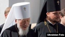 Бывший предстоятель Украинской православной церкви митрополит Владимир и митрополит Александр (справа)