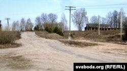 Рэшткі калгаснай фэрмы ў Жасткава.