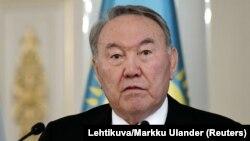 Президент Казахстана Нурсултан Назарбаев. Архивное фото.