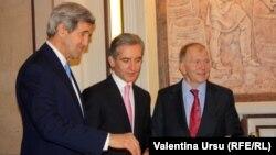 John Kerry la Cricova