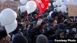 """Митинг """"За честные выборы"""" в Екатеринбурге"""