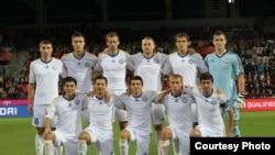 Сборная Казахстана по футболу.