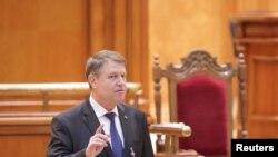 Президент Клаус Йоханнис. 7-февраль, 2017-жыл.