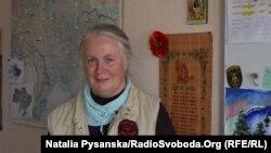 Голова організації «Допомога для України» у Лобеталі Елізабет Кунце