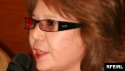 """Гульжан Ергалиева, главный редактор газеты """"Свобода слова""""."""