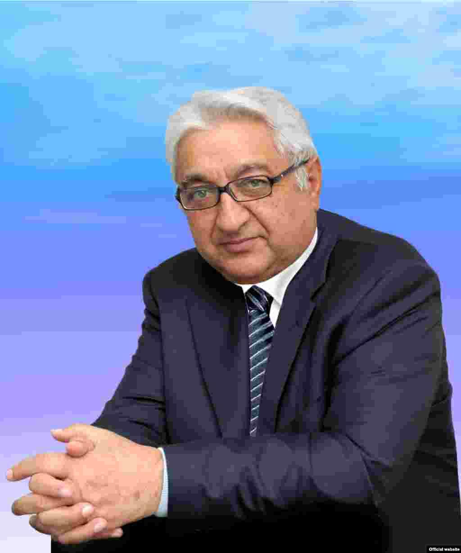 Mehriban Əliyevanın atası, akademik, fizika-riyaziyyat elmləri dokyoru Arif Pashayev.