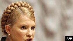 Tymoshenko says Yushchenko destroyed people's faith in the ideals of the Orange Revolution.