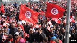 المسيرة المناهضة للارهاب في تونس، 29 آذار 2015