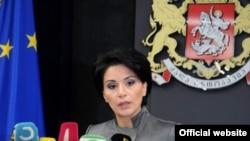 Пресс-секретарь президента Грузии Манана Манджгаладзе