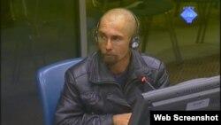 Zlatko Antunović svjedoči na suđenju Goranu Hadžiću, 17. listopad 2012.