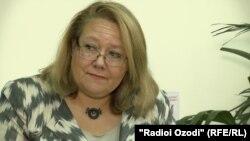 Туула Юрьёля, глава Офиса программ ОБСЕ в Душанбе