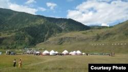 Алтайдағы Берел жазығы. 2011 жыл. Көрнекі сурет.
