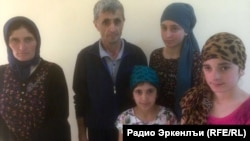 Рамазан Джалалдинов с семьей