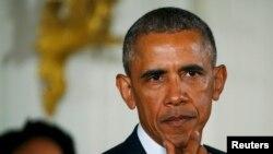 АҚШ президенті Барак Обама. Вашингтон, 5 қаңтар 2016 жыл.