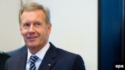 Германиянын экс-президенти Кристиан Вулф Ганновердеги сотто. 14-ноябрь 2013-жыл