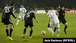 «Qarabağ»-«İnter». Foto arxiv