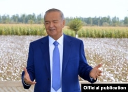 During Soviet times and under longtime ruler Islam Karimov, cotton exports were the main priority.