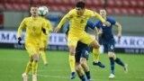 Руслан Малиновский во время матча Словакия – Украина