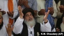 FILE: Pakistani radical cleric Khadim Hussain Rizvi
