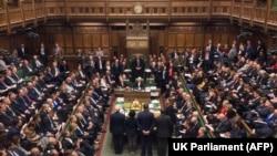 Оголошення результатів голосування в британському парламенті 29 січня 2019 року.