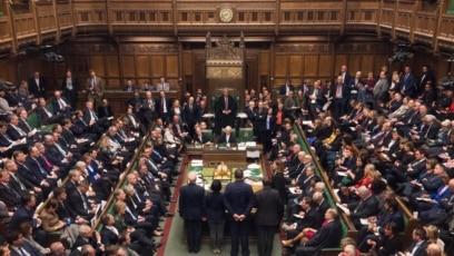 Sednica parlamenta Velike Britanije