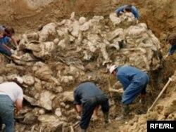 Masovna grobnica srebreničkih Bošnjaka na kojoj je svjedok radio