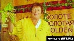 Мария Костик на выставке «Золотая гроздь винограда 2012». Симферополь, 2012 год