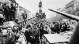 21 жніўня 1968 году: Савецкае ўварваньне ў Чэхаславаччыну