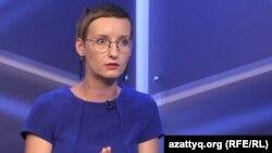 Журналист телеканала «Настоящее время» Ирина Ромалийская