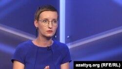 """Журналіст телеканалу """"Настоящее время"""" Ірина Ромалійська"""